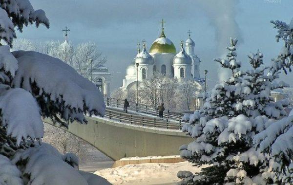 Новый Год и Рождество в Великом Новгороде
