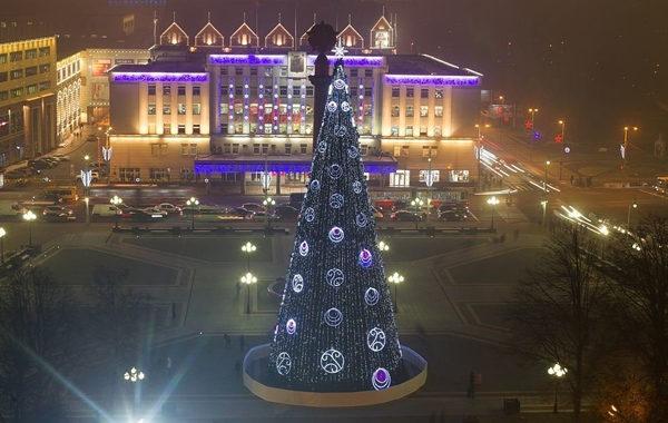 Новый Год и Рождество в Калининграде